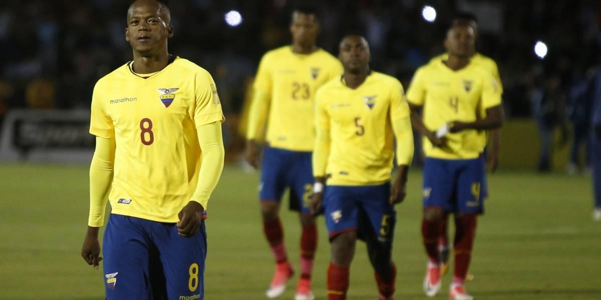 Ecuador podría descender al puesto 60 del ranking FIFA