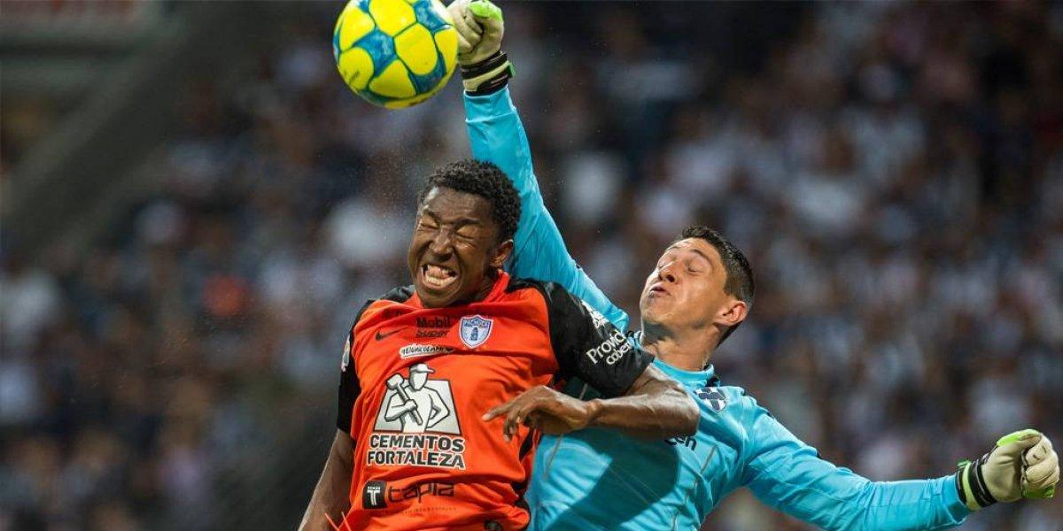 Pachuca no sabe ganar en el estadio del Monterrey