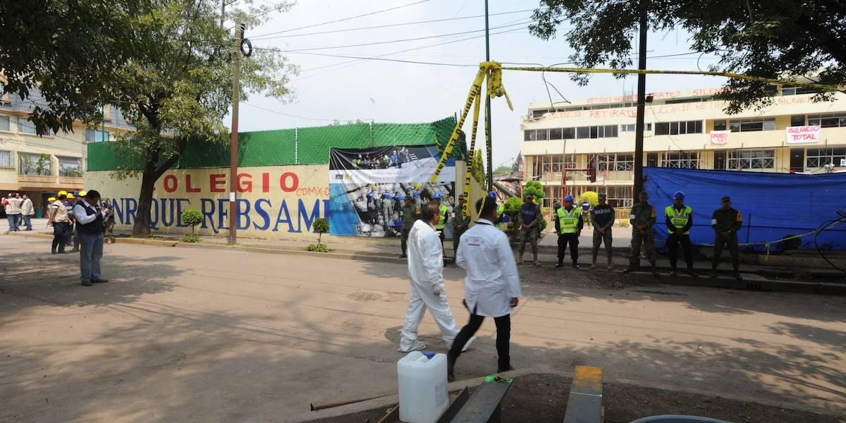 Directora del Rébsamen no construyó, solo heredó la escuela: abogado