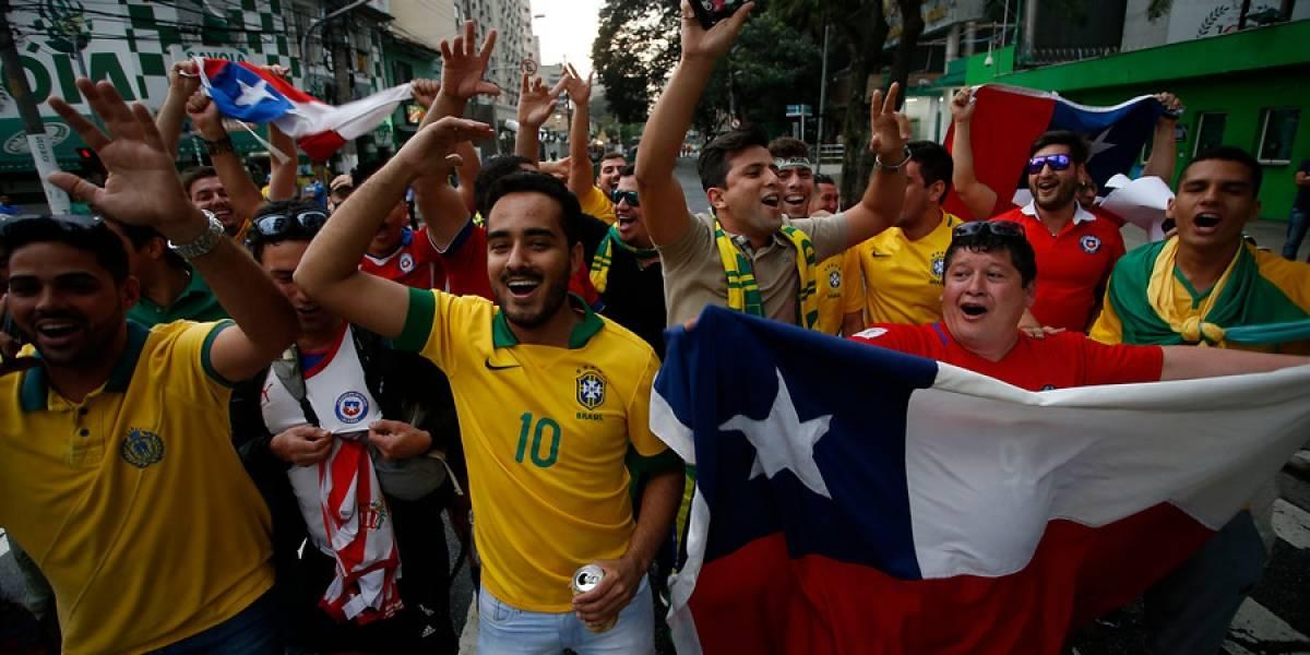 """""""Chi, chi, chi, le, le, le chao Chile"""": Brasil no se entregó y le pegó en el piso a la Roja"""