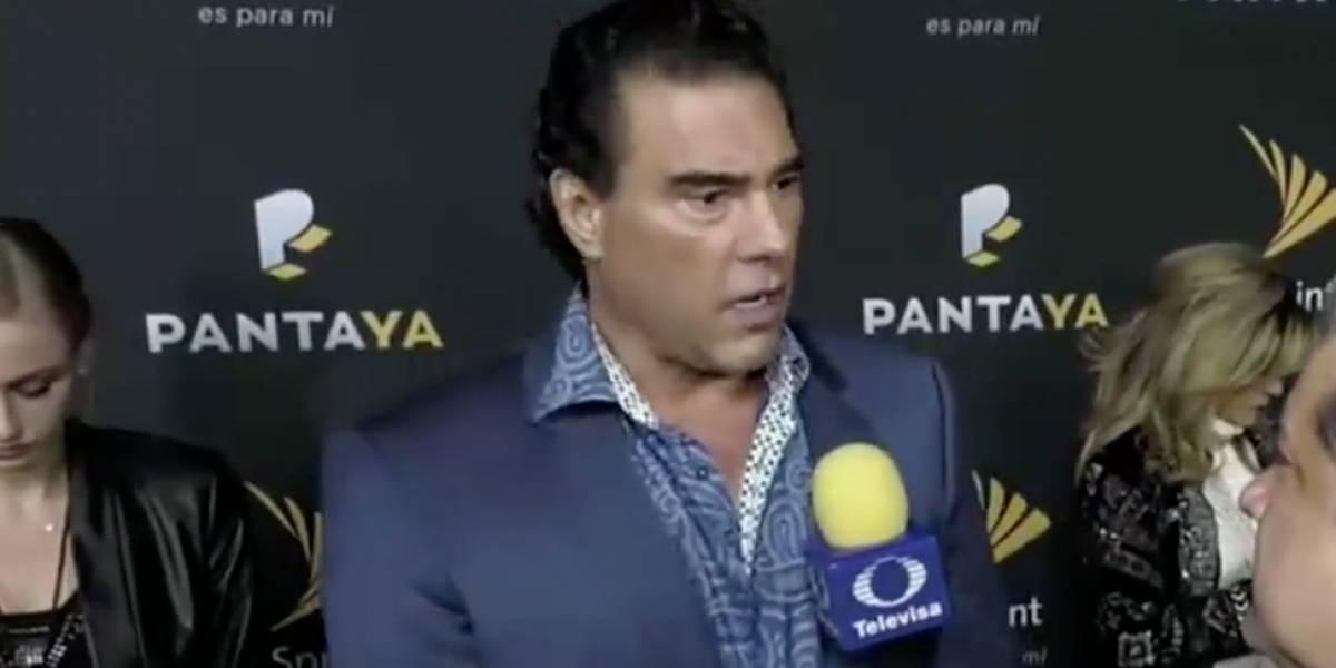 Eduardo Yáñez cachetea a reportero de 'El Gordo y La Flaca'