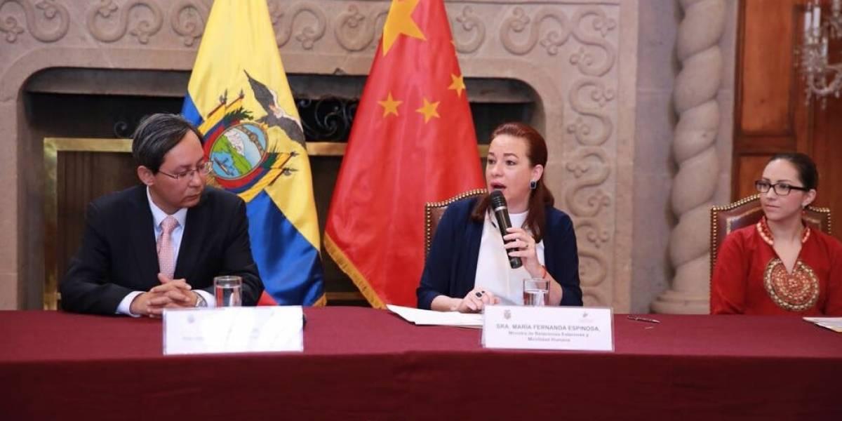 Ecuador y China firman tres mecanismos de cooperación bilateral