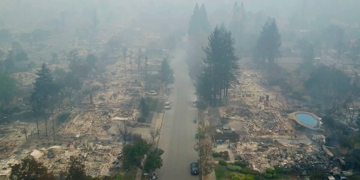 Incendios en California dejan 21 personas muertas