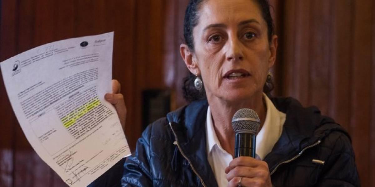Ampliarán denuncia contra Sheinbaum por ocultar irregularidades en el Rébsamen