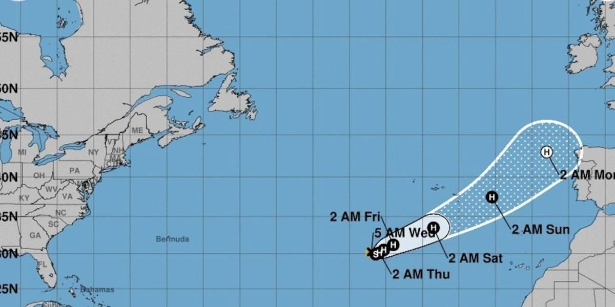 Ofelia se convierte en huracán en el Atlántico