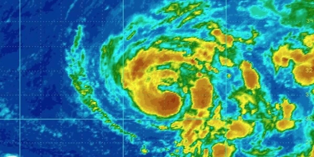 Tormenta Ophelia gana fuerza sobre el Atlántico