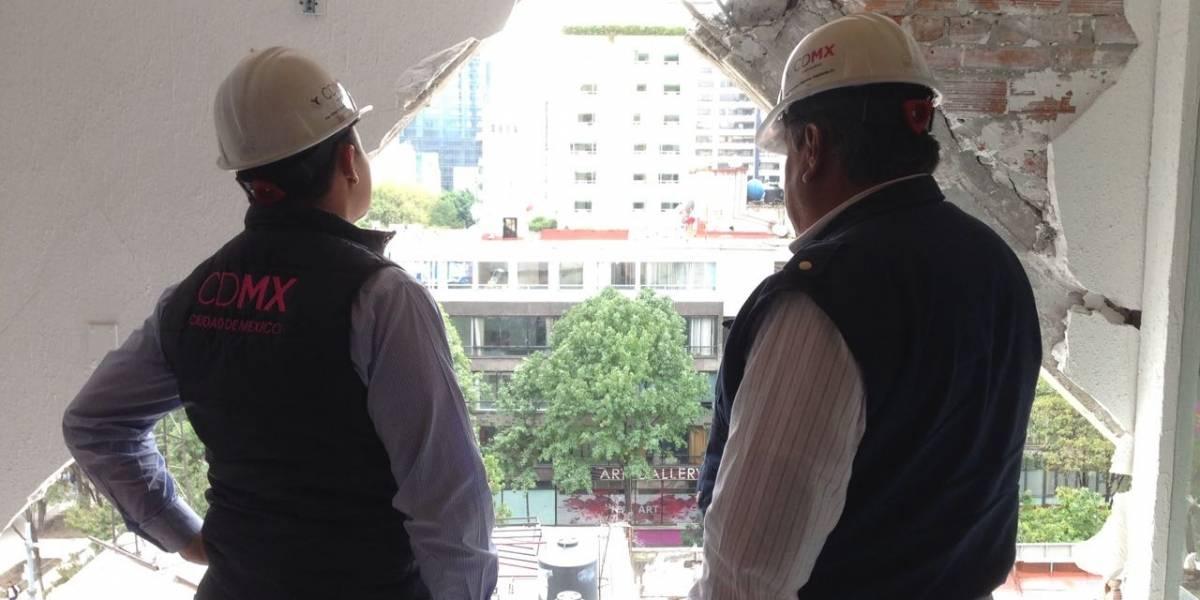 Demoliciones se extenderán hasta fin de año