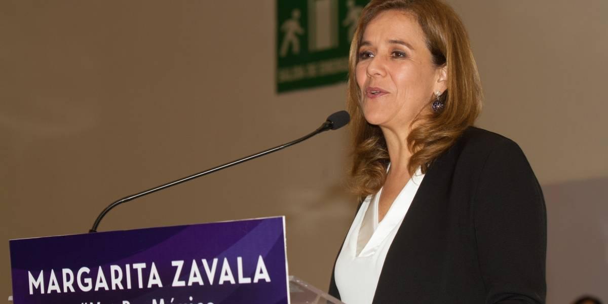Zavala se registra este jueves como independiente por la Presidencia