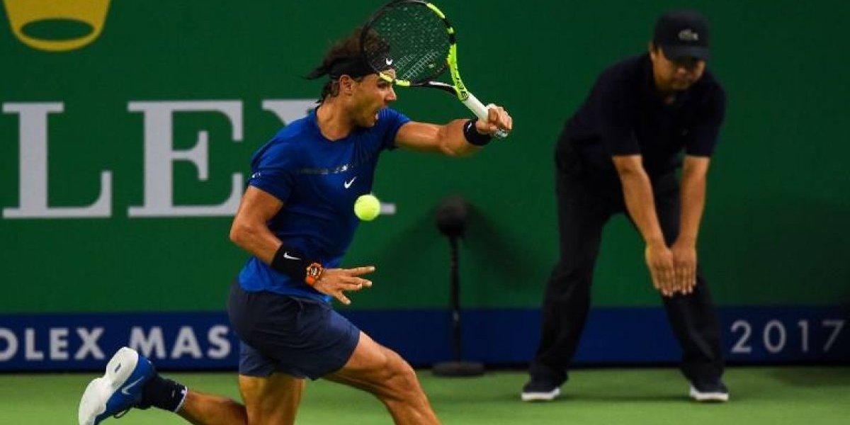 Nadal y Federer siguen pasando la aplanadora en Shanghai rumbo a una final soñada