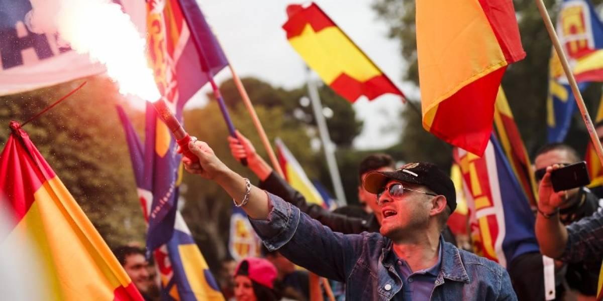 España celebra el Día de la Hispanidad marcado por la crisis en Cataluña