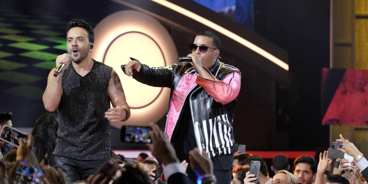 Nominados Fonsi y Yankee a cuatro premios en American Music Awards