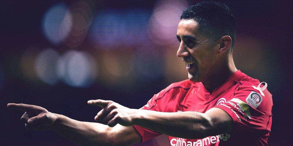 Rocky golpea fuerte: Osvaldo González dejó al Toluca como sublíder del torneo en México