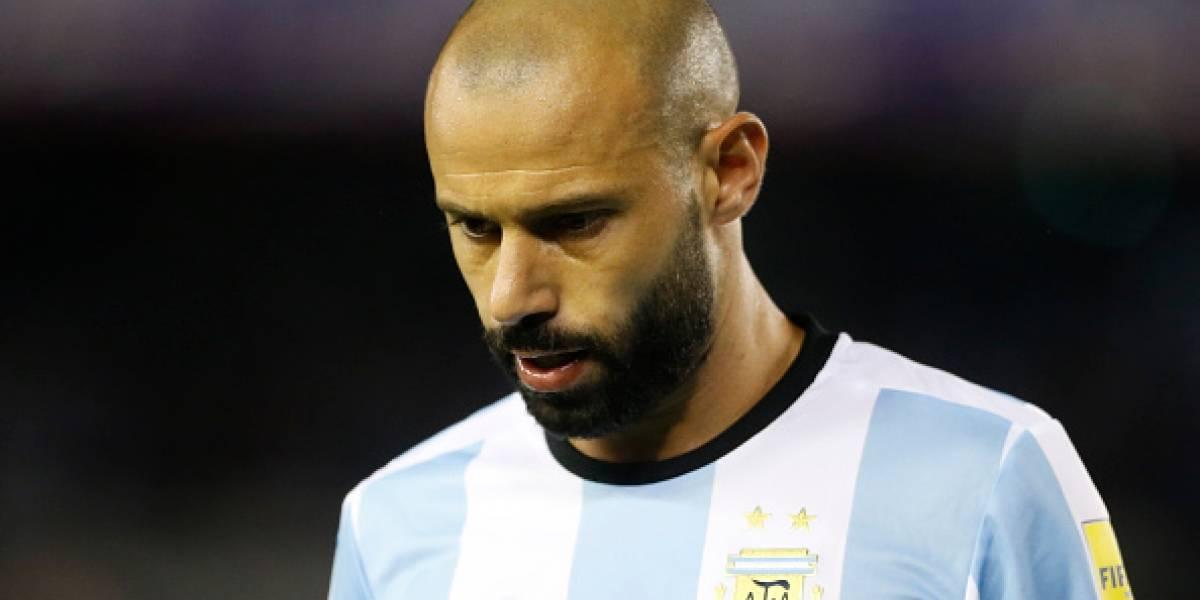 Jugador de la selección argentina anunció que se retirará tras Rusia 2018