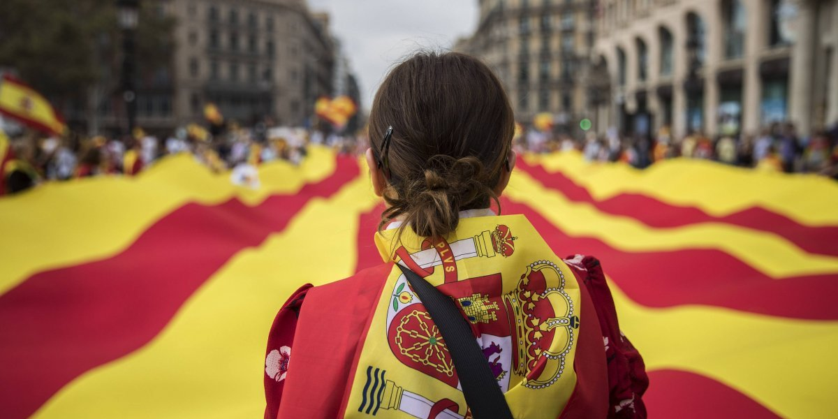 España celebra su fiesta nacional en plena crisis de Cataluña