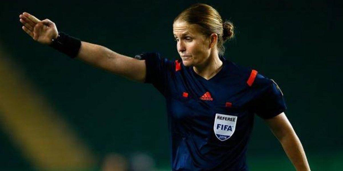 Designan a la primera mujer que arbitrará en el Mundial Sub-17
