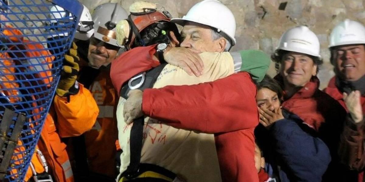 El emotivo tuiteo de Piñera al recordar los siete años del rescate de los 33 mineros