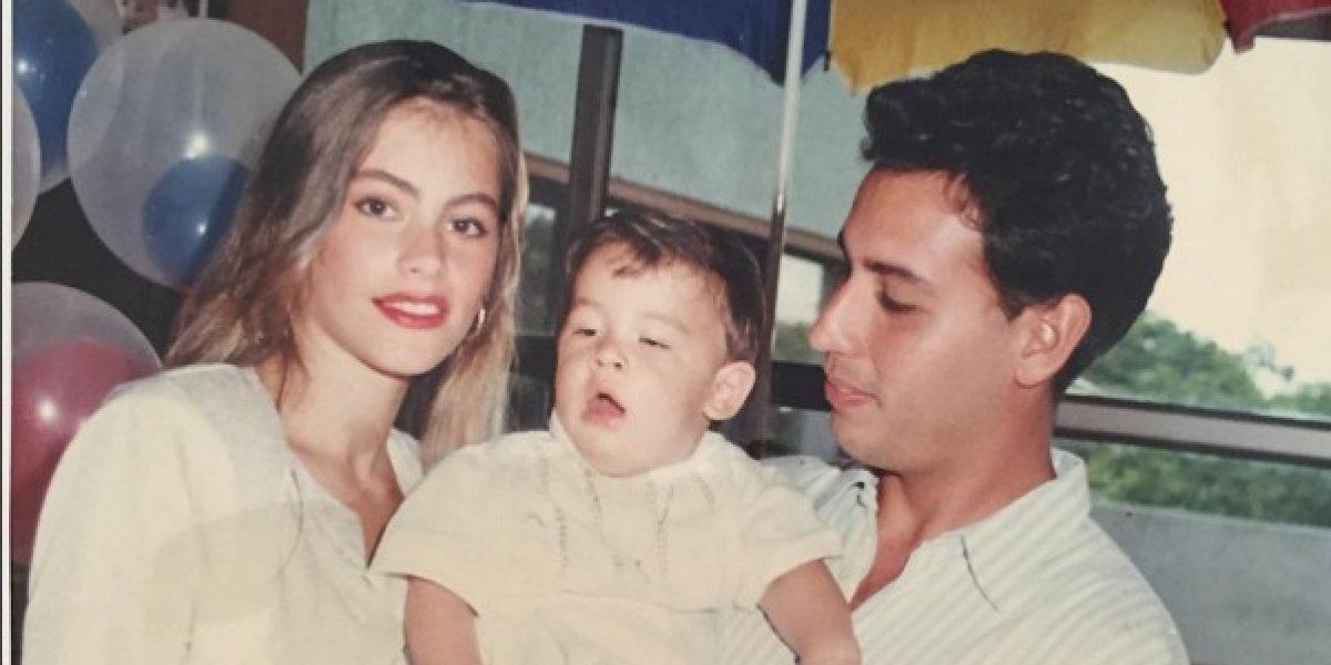 El hijo de Sofía Vergara pasó de ser un tierno niño a un sexy joven que arranca suspiros