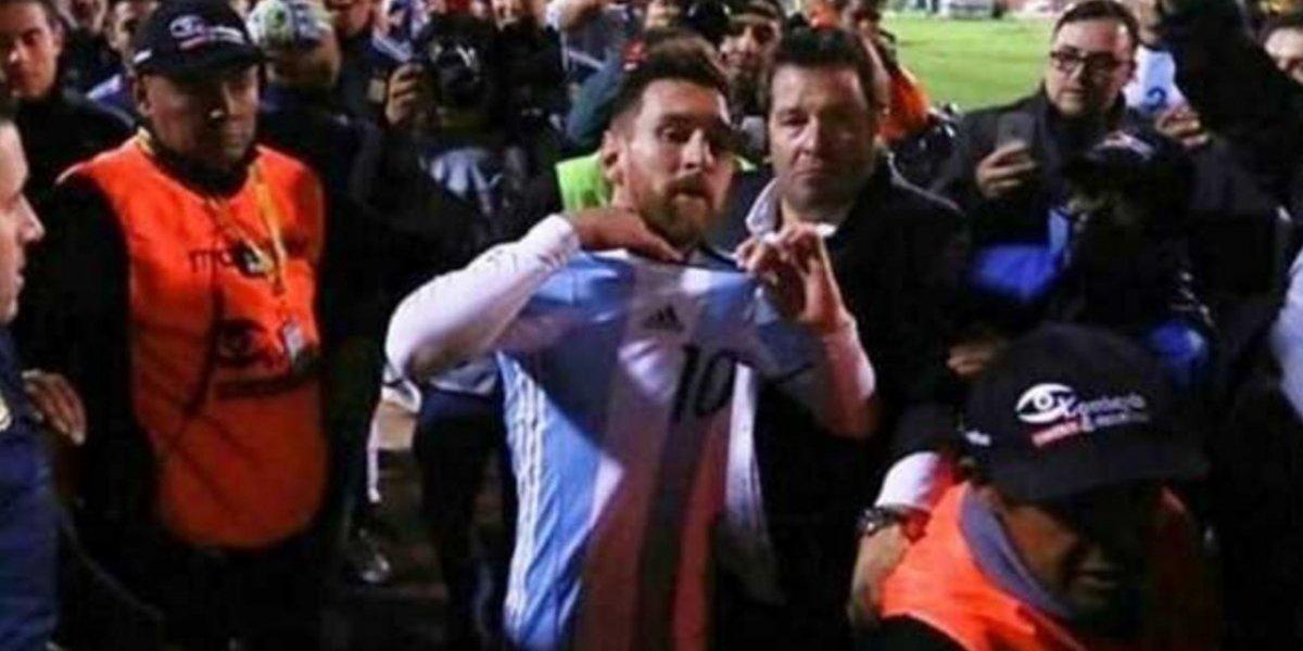 VIDEO: La increíble historia del argentino que no ganó la playera de Messi en el estadio