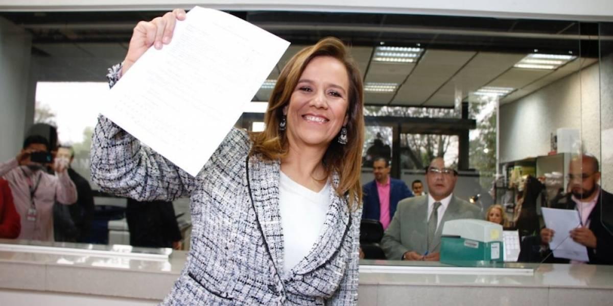 Zavala ya es la aspirante independiente 39 a la Presidencia