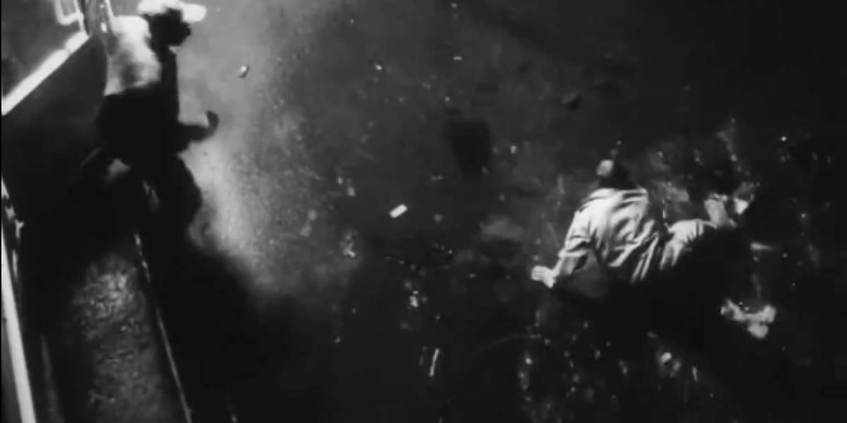 """Video: hombre es arrastrado por una """"fuerza sobrenatural"""""""