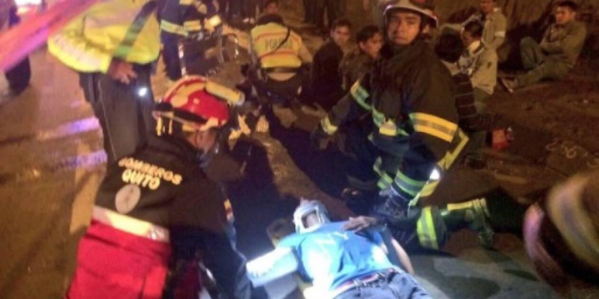 11 heridos tras accidente de tránsito en Tolóntag