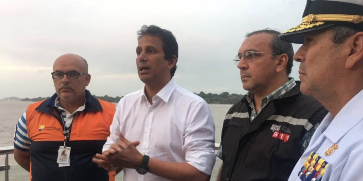 José Francisco Cevallos se pronunció sobre caída del puente de la Isla Santay