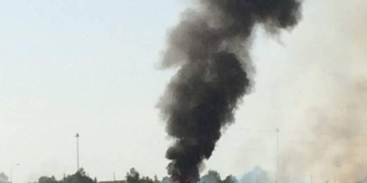 Fallece el piloto del avión que se estrelló al regresar a base en España