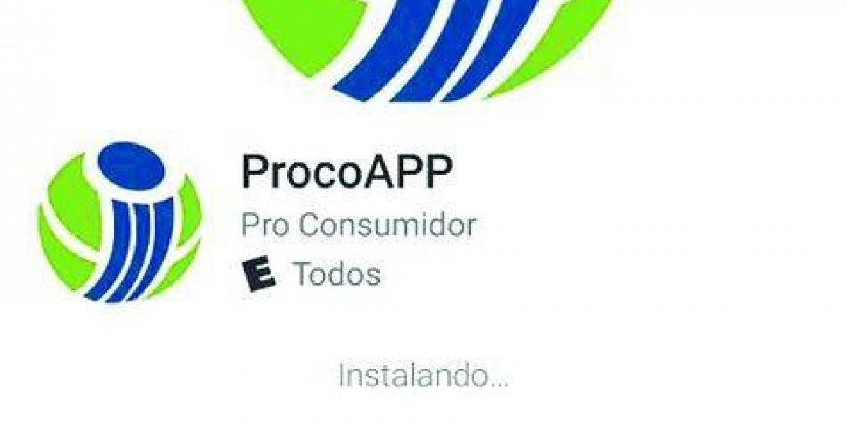 ProConsumidor activa aplicación móvil para recibir denuncias