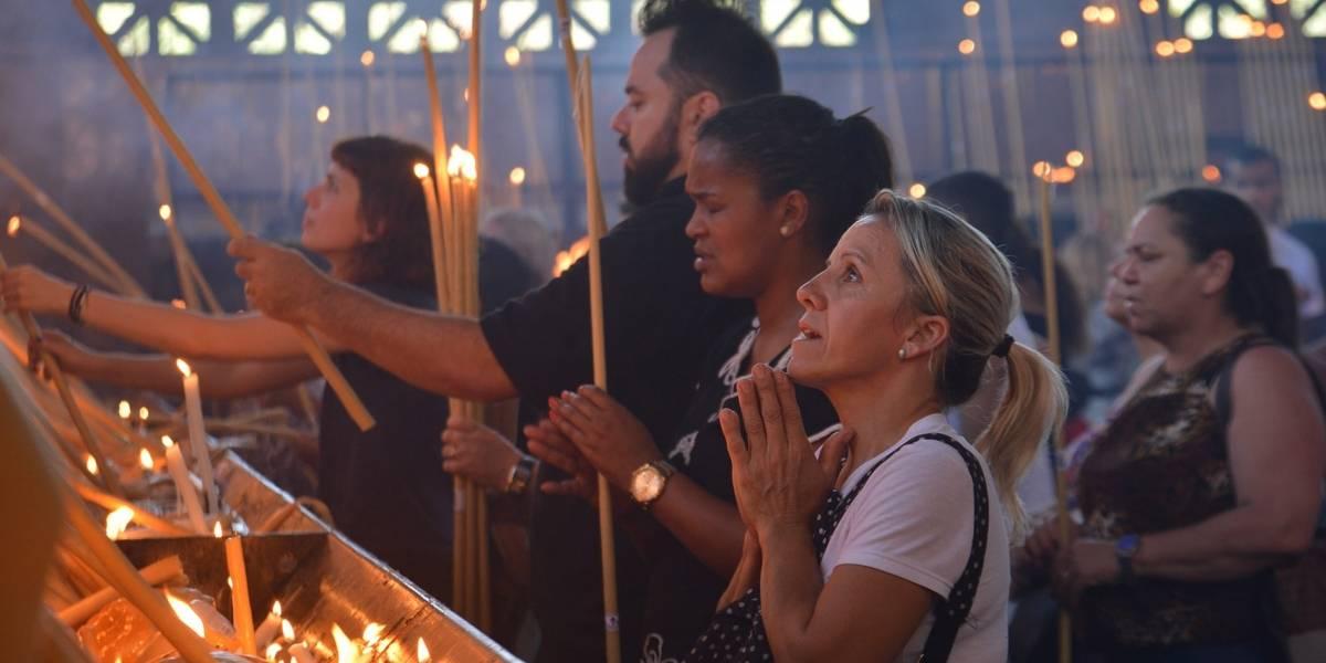 Santuário de Nossa Senhora Aparecida recebe 200 mil fiéis no feriado