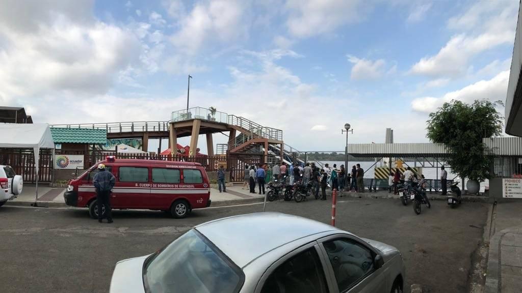 Puente de la isla Santay