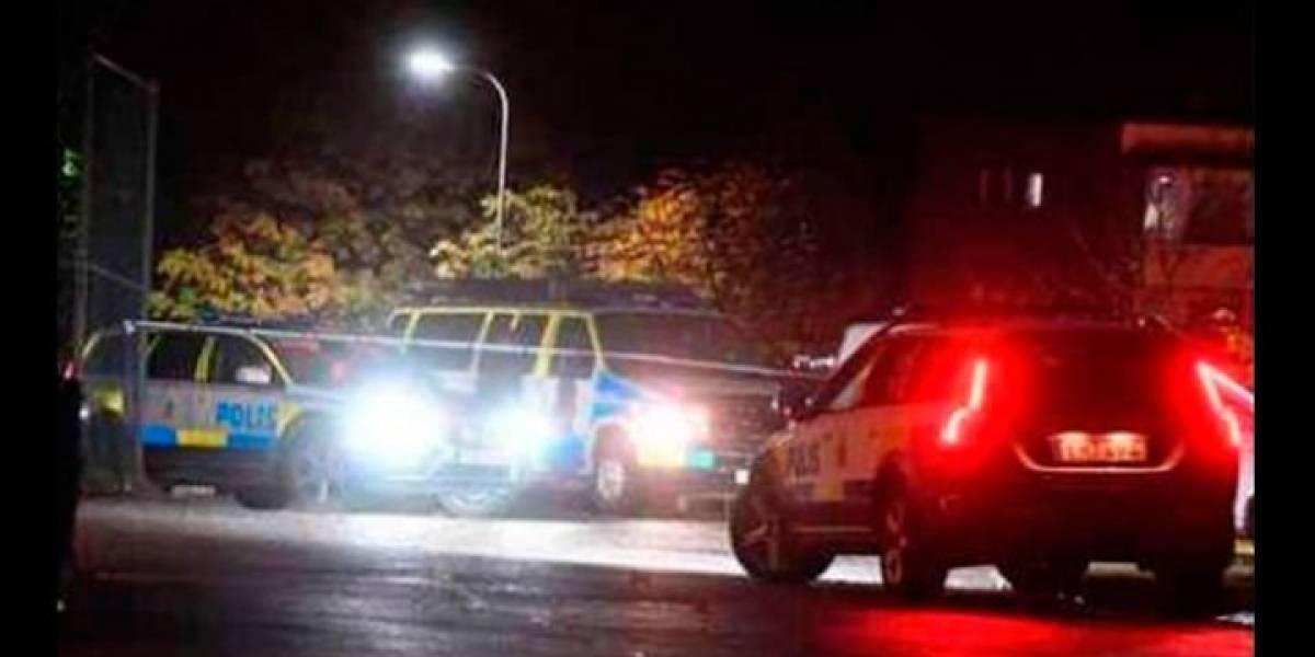 Tiroteo en Suecia deja al menos cuatro heridos