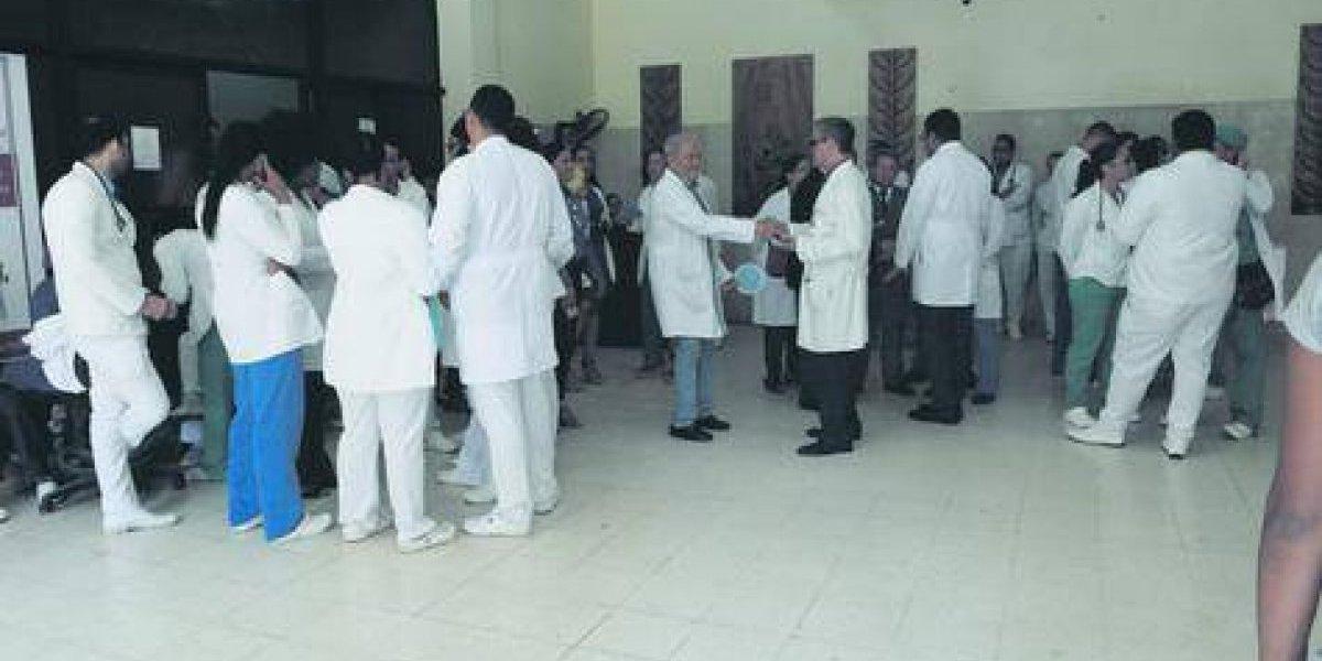 CMD: Tres días sin servicios médicos la próxima semana