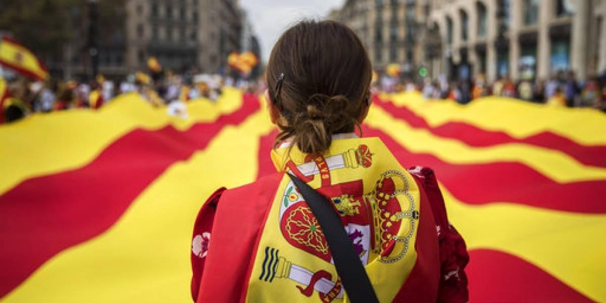FOTOS. España celebra el Día de la Hispanidad en medio de la crisis con Cataluña