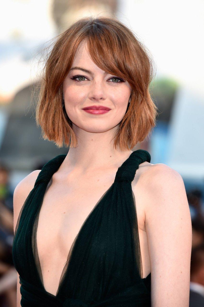 Emma Stone poco cabello