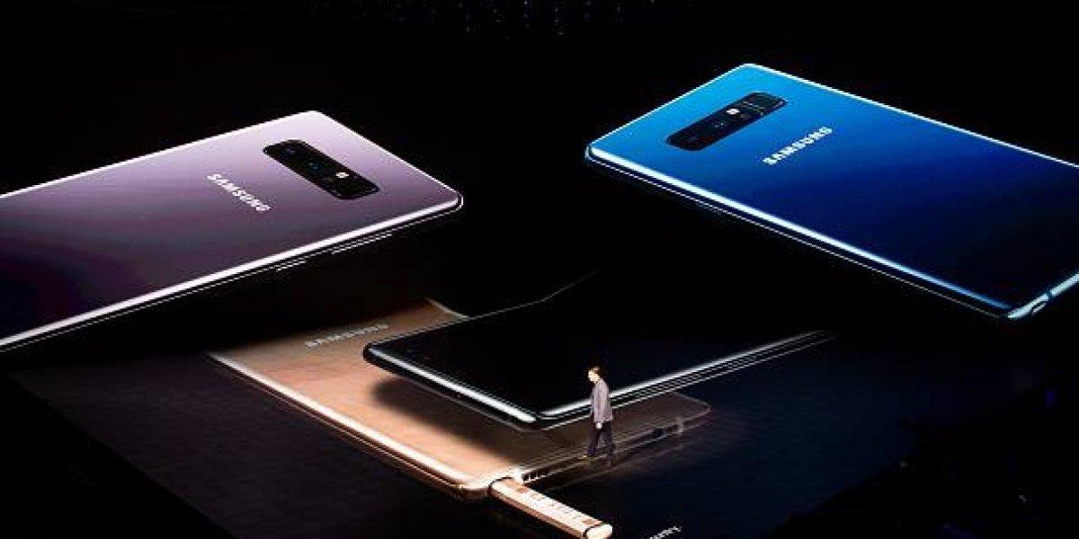 Ventas de Galaxy Note 8 superan expectativas de Samsung en México