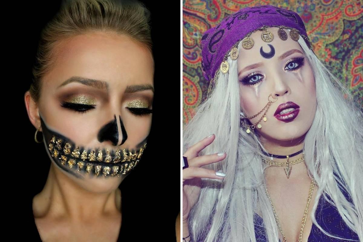 13 ideas de maquillaje para Halloween que querrs copiar Nueva Mujer