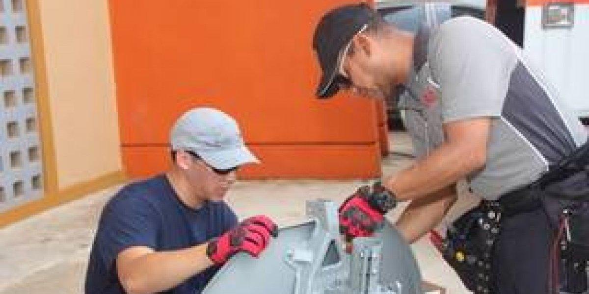 DISH lleva internet satelital a centro de emergencia de la montaña