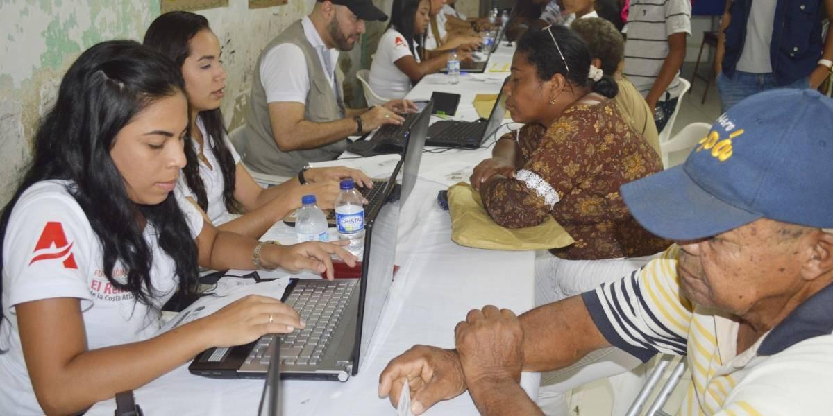 Diez mil colombianos retornados de Venezuela se han registrado en el Atlántico