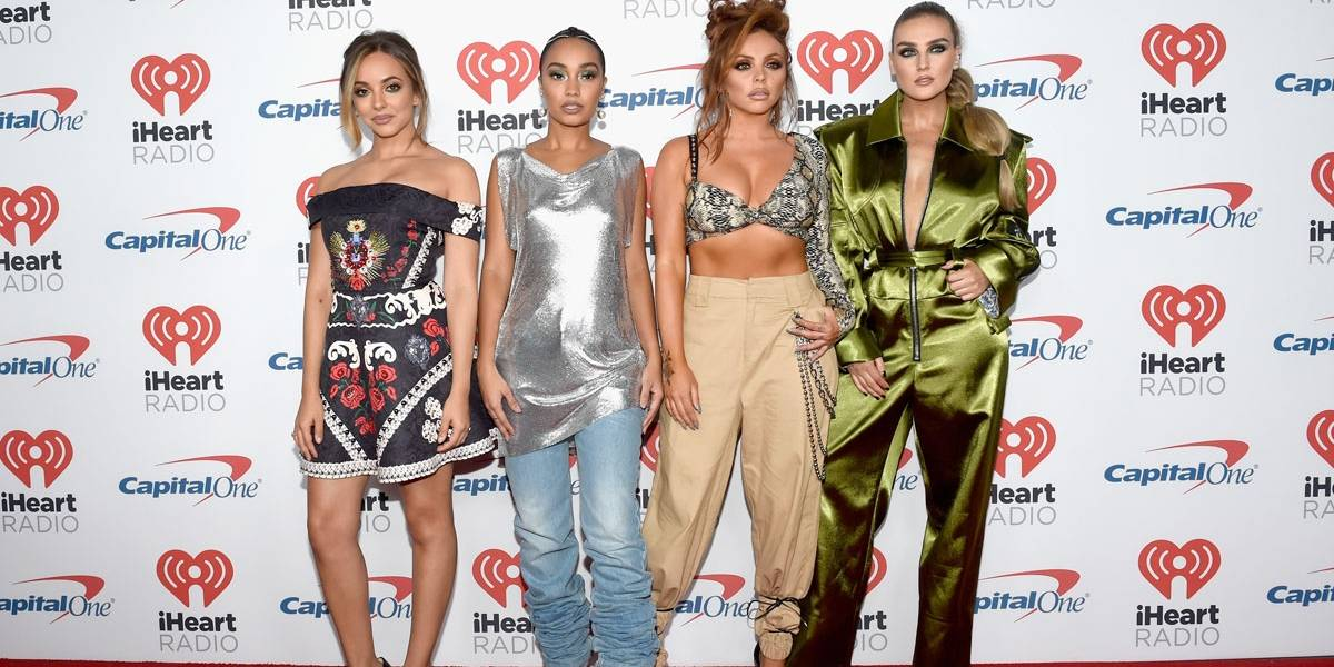 Integrantes do Little Mix cantam e dançam 'K.O', de Pabllo Vittar