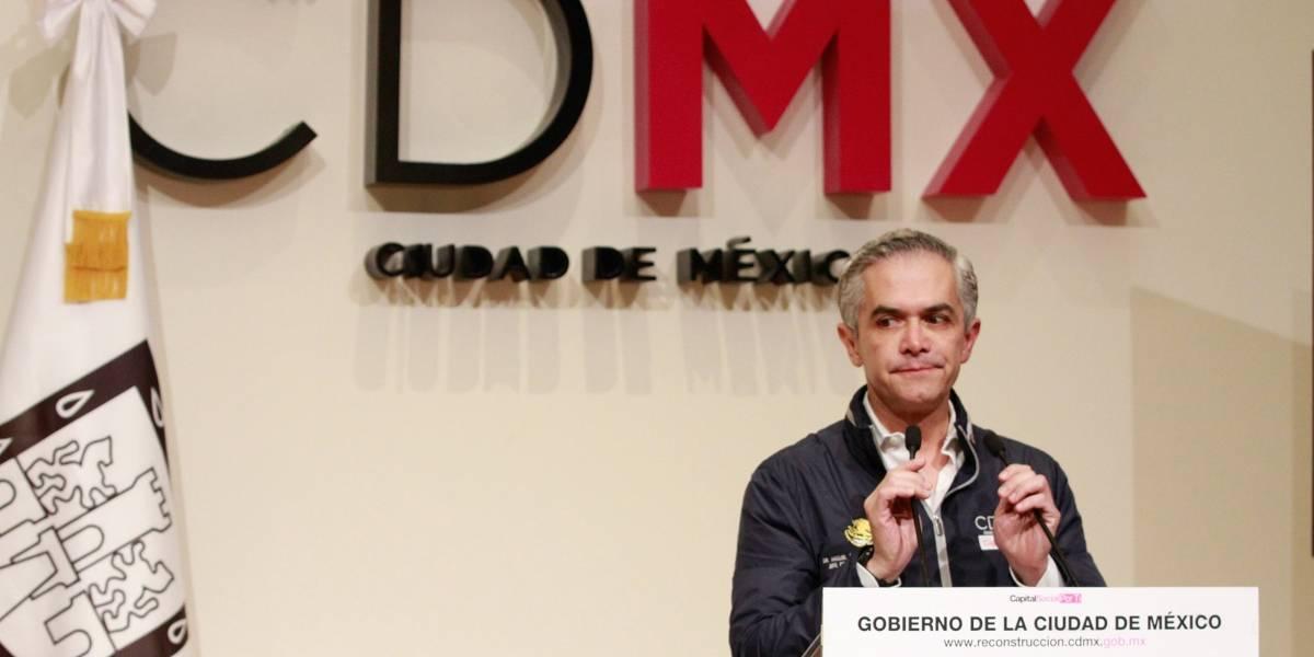 Reconstrucción de la CDMX no necesita 'aspirinas' sino una cirugía mayor: Mancera