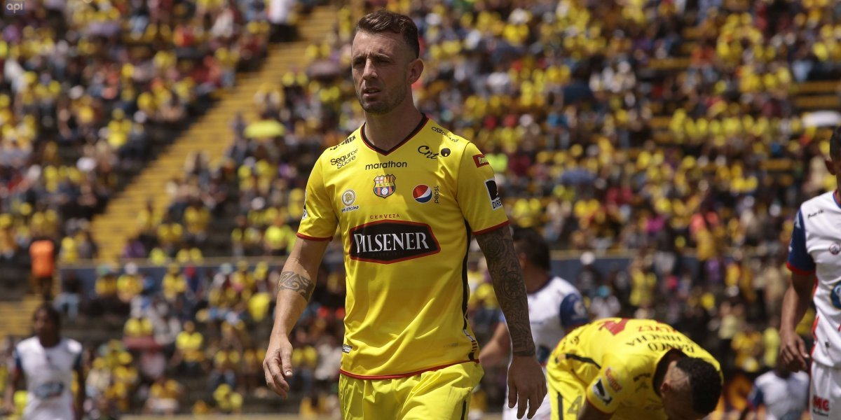 Así disfrutó Damián Díaz la victoria de Argentina en el estadio Atahualpa