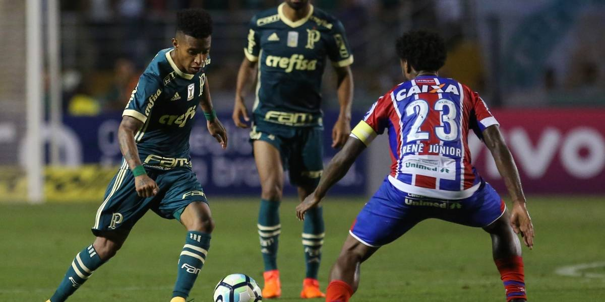 Confuso, Palmeiras leva pressão e cede empate ao Bahia em casa