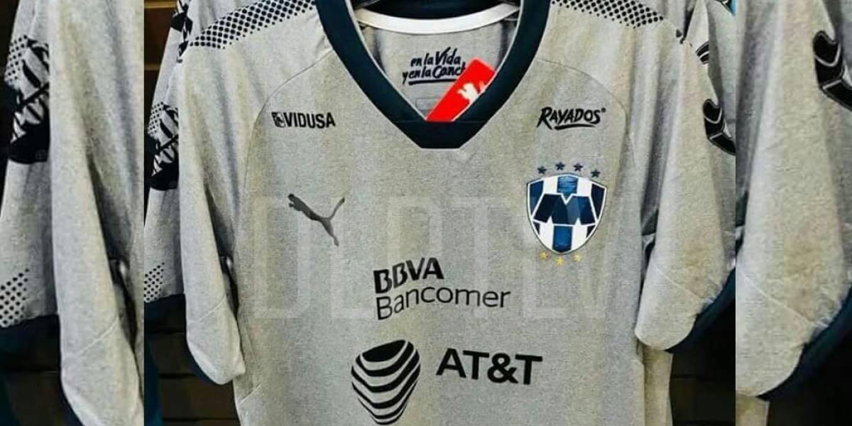 FOTO: Filtran jersey gris de Rayados