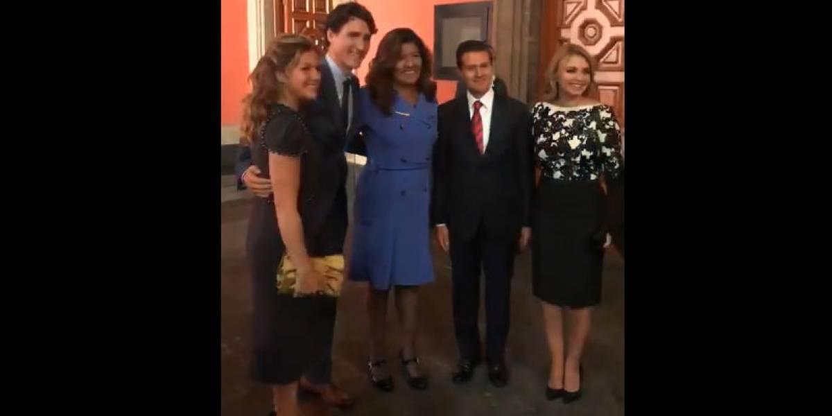La reportera mexicana que le declaró su amor a Trudeau