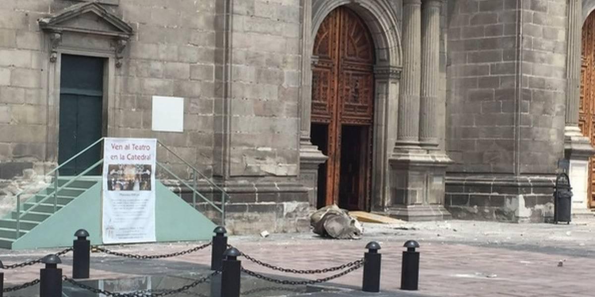La gente puede acudir sin peligro a la Catedral Metropolitana: Arquidiócesis