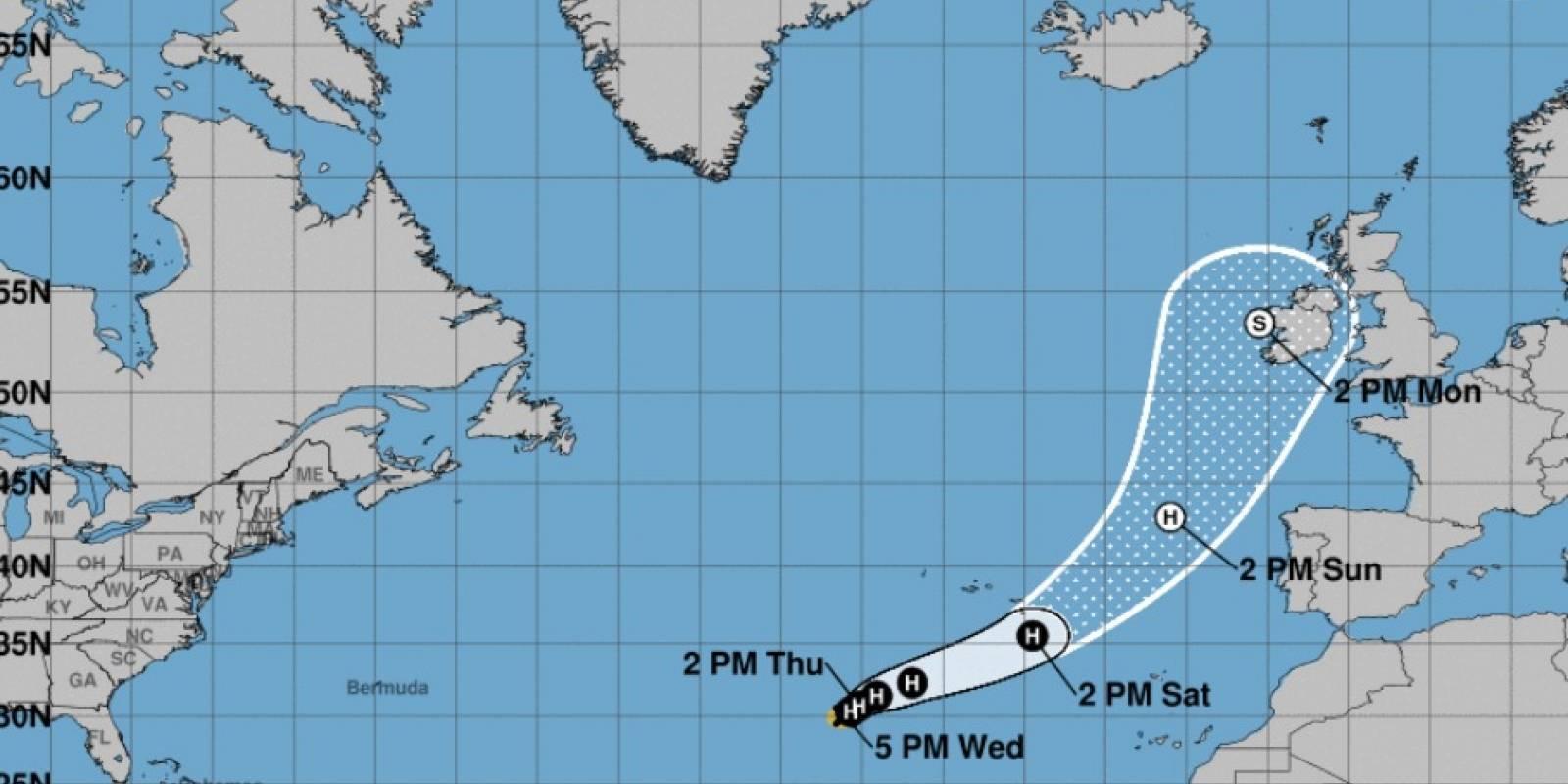 huracán Ophelia