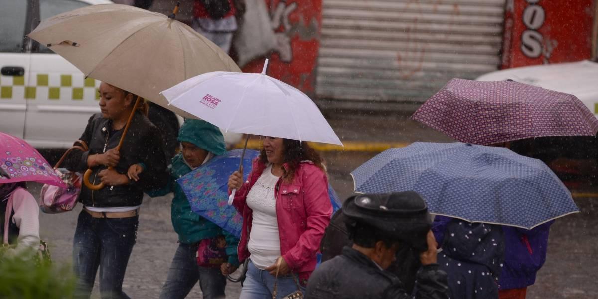 Este jueves se esperan lluvias en 31 estados de la República