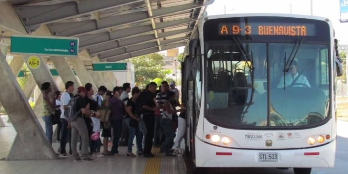 Transmetro aplica nuevos desvíos en dos rutas alimentadoras en Barranquilla