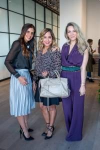 Paulina Feria, Liz Castro y Zarina Rivera