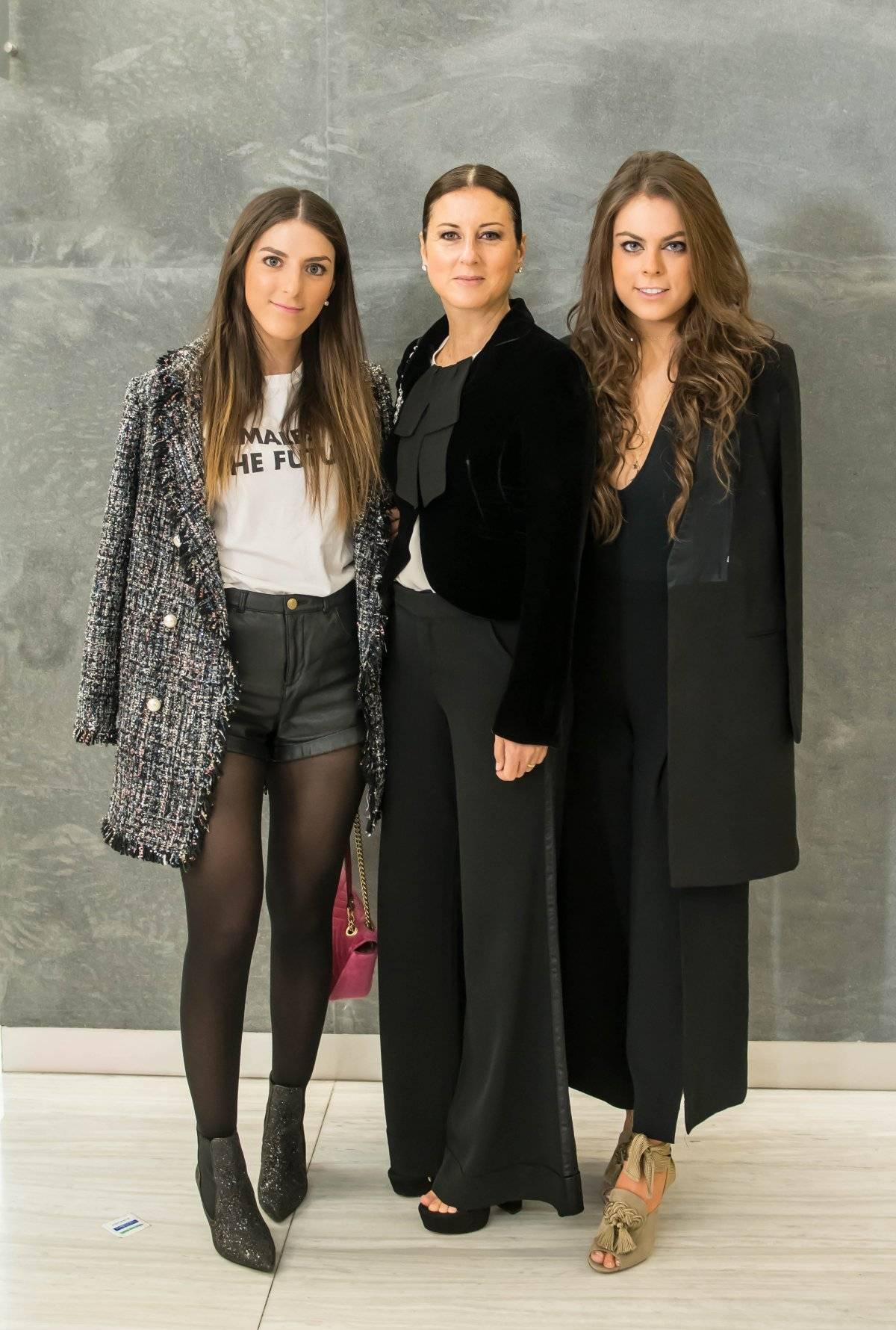 Michelle, Frida y Yael Sandler